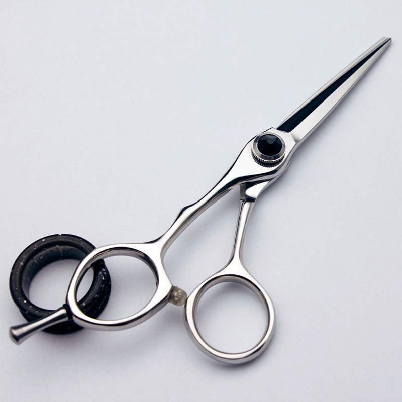 5.5 Inch Lefty 440C Stainless Steel Hairdressing Straight Scissors